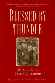 Cover of: Blessed by Thunder