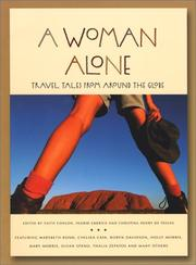 Cover of: A woman alone | edited by Faith Conlon, Ingrid Emerick, and Christina Henry De Tessan.