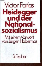 Cover of: Heidegger und der Nationalsozialismus