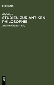 Cover of: Studien zur antiken Philosophie