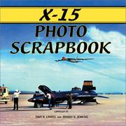 Cover of: X-15 photo scrapbook | Tony Landis