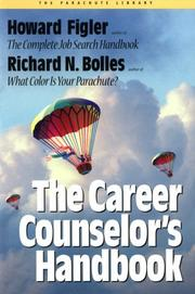 Cover of: The career counselor's handbook