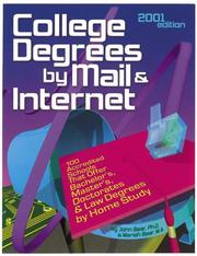Cover of: College Degrees by Mail & Internet