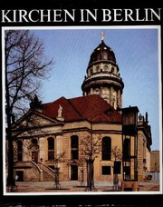 Cover of: Kirchen in Berlin