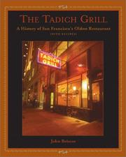 Cover of: Tadich Grill