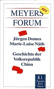 Cover of: Geschichte der Volksrepublik China