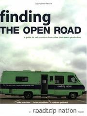 Cover of: Finding The Open Road | Mike Marriner