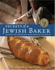 Cover of: Secrets of a Jewish Baker | George Greenstein