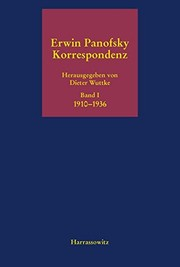 Cover of: Korrespondenz 1910 bis 1968