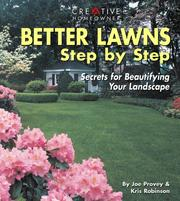 Cover of: Better Lawns Step by Step | Joseph Provey