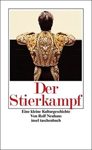 Cover of: Der Stierkampf
