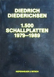 Cover of: 1500 Schallplatten 1979-1989