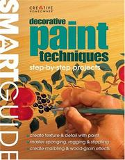 Cover of: Decorative paint techniques |