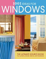 Cover of: 1001 ideas for windows | Anne Justin