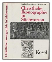 Cover of: Christliche Ikonographie in Stichworten