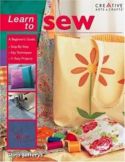 Cover of: Learn to sew | Chris Jefferys
