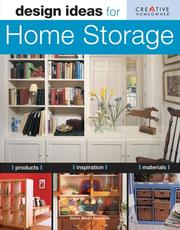 Cover of: Design Ideas for Home Storage (Design Ideas Series)