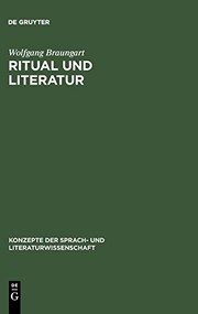 Cover of: Ritual und Literatur