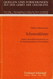 Cover of: Schottenklöster