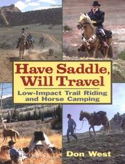 Cover of: Have Saddle, Will Travel