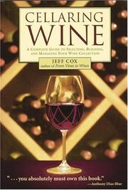 Cover of: Cellaring Wine | Jeff Cox