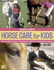Cover of: Cherry Hill's Horse Care for Kids