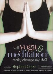 Cover of: Will Yoga & Meditation Really Change My Life