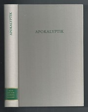 Cover of: Apokalyptik