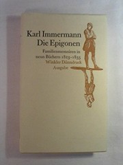 Cover of: Die Epigonen
