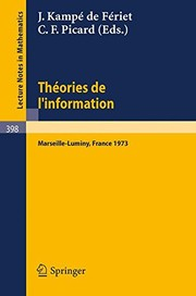 Cover of: Théories de l'information