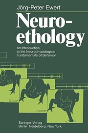 Cover of: Neuroethology