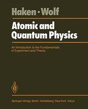 Cover of: Atomic and quantum physics