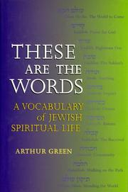 Cover of: These Are the Words