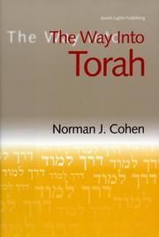 Cover of: The Way into Torah (The Way Into)