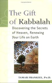 Cover of: The Gift of Kabbalah