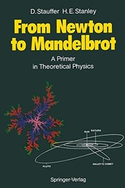 Cover of: From Newton to Mandelbrot | Dietrich Stauffer