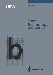Cover of: Font technology | Peter Karow