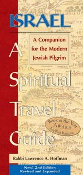 Cover of: Israel--a spiritual travel guide |