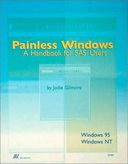 Cover of: Painless Windows  | Jodie Gilmore