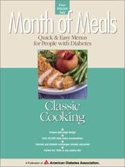Cover of: Classic cooking