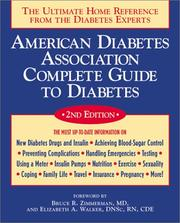 American Diabetes Association Complete Guide to Diabetes by American Diabetes Association.