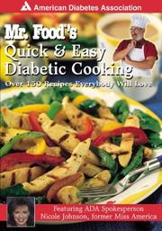 Mr. Food's Quick & Easy Diabetic Cooking by Art Ginsburg