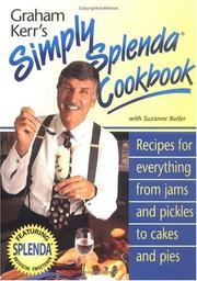 Cover of: Graham Kerr's Simply Splenda Cookbook
