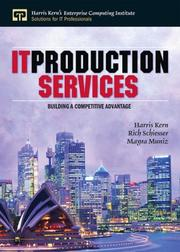 Cover of: IT production services