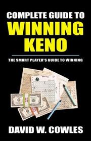 Cover of: Complete Guide to Winning Keno | David Cowles