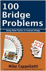 Cover of: 100 Bridge Problems | Mike Cappelletti