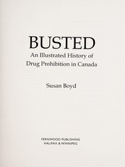 Cover of: Busted | Susan C. Boyd