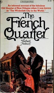 Cover of: The French Quarter | Herbert Asbury