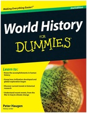 Cover of: World History for Dummies |