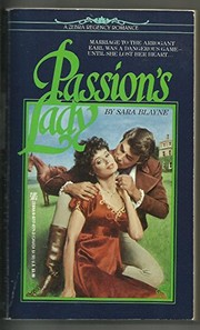 Cover of: Passion